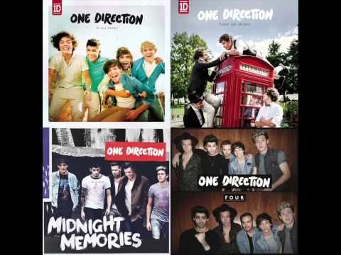 One Direction Mashup (All Albums) - YouTube