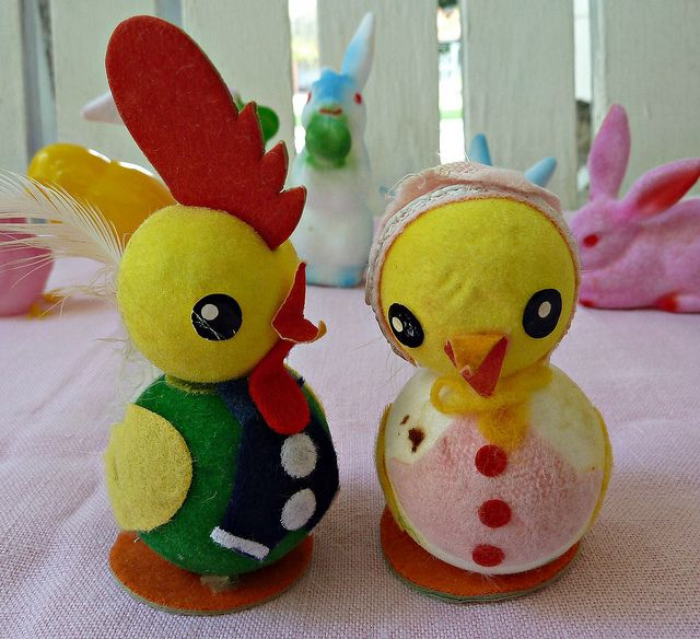 Vintage Easter Decorations by MissConduct*