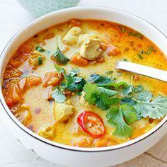 Zupa meksykańska z batatami, kurczakiem i soczewicą | Kwestia Smaku