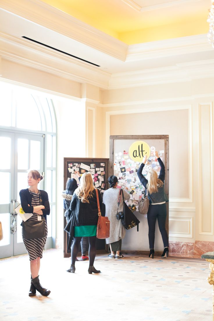 Establish a signature style and apply it to your business cards — Alt Summit