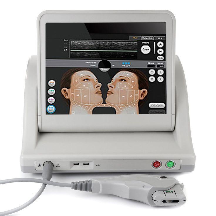 HIFU Intensity Focused Ultrasound Facial Lifting Anti Wrinkle Beauty Machine Ski…