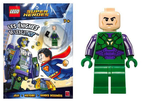 En Kiosque Nouveau Livre D Activites Lego Dc Comics Avec