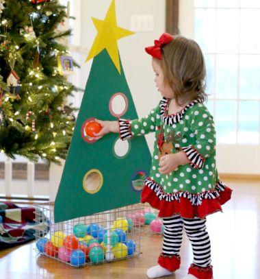 Karácsonyfa díszítő játék gyerekeknek kartonpapírból / Mindy -  kreatív ötletek és dekorációk minden napra