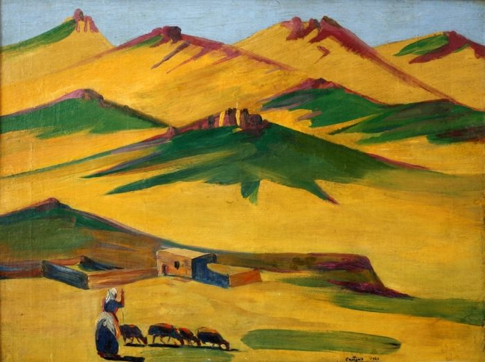 Жаркий день в горах (Сарьян Мартирос) - Великие русские художники - творческое объединение Спокуса