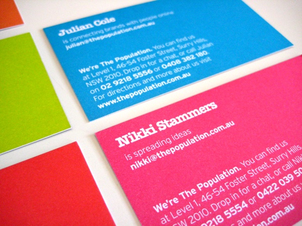 30 amazing business card designs.  Use these to inspire you!
