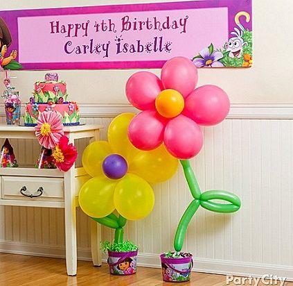 Como hacer decoraciones con globos para fiestas infantiles for Decoracion de globos para fiestas infantiles paso a paso