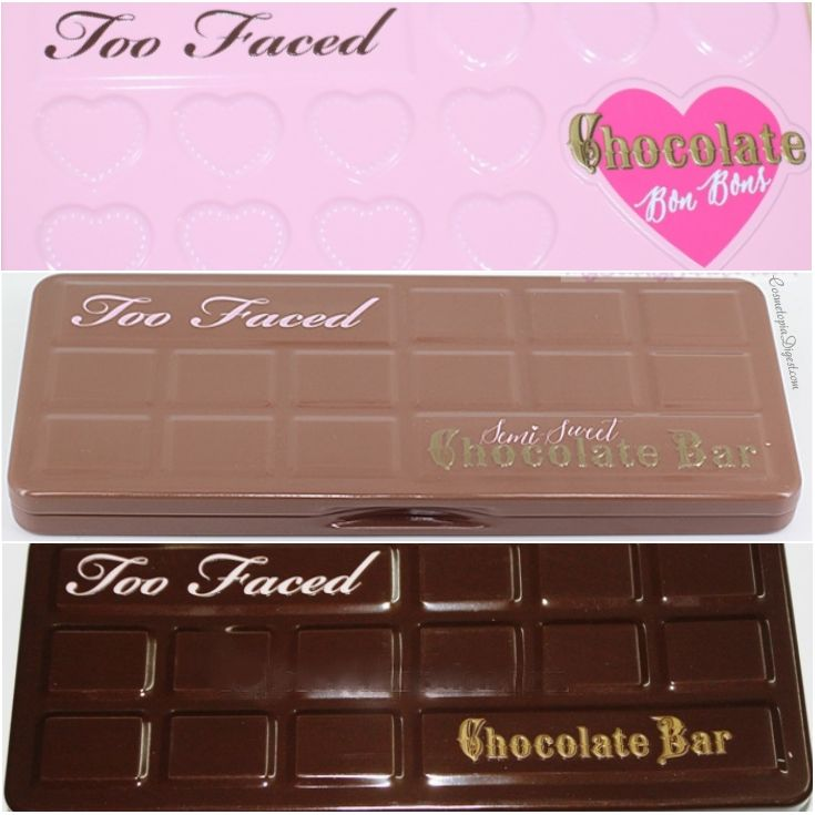 Too Faced Natural Eyes Vs Chocolate Bar