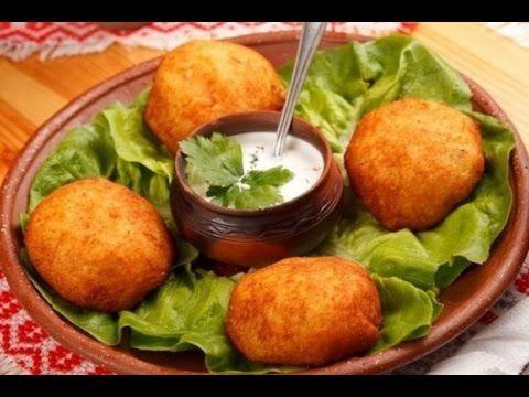 Алу вада (Хрустящие картофельные шарики) - YouTube