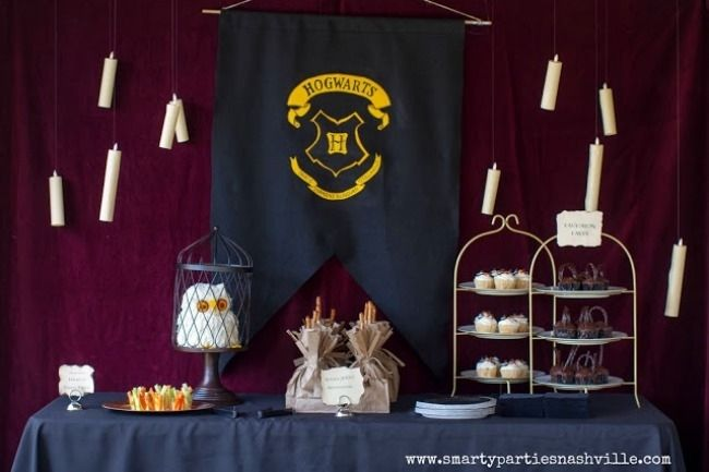 Unique harry potter birthday party ideas floating