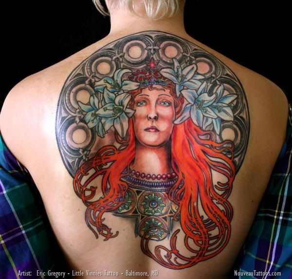 10 best images about alphonse mucha on pinterest ernst for Best tattoo artist in baltimore