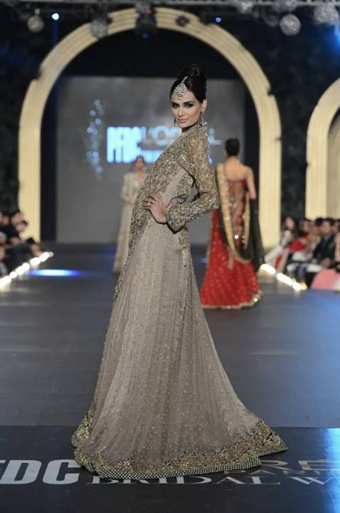 Sana Safinaz Bridal Collection at PLBW 2013.
