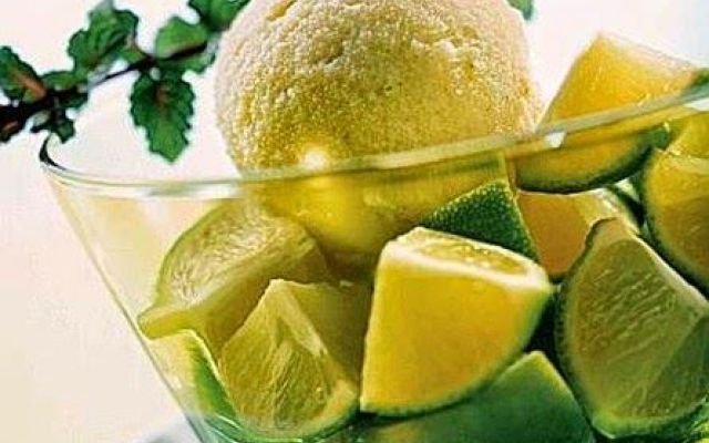 Sorbetto al lime, un miracolo della natura ecco la ricetta #sorbetto #al #lime #un #miracolo