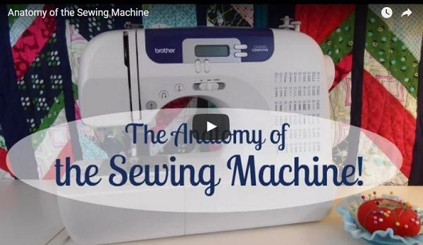 Video tutorial: Anatomy of a sewing machine