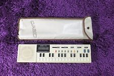 Casio VL-1 VL-Tone Music Sequencer Synthesizer Calculator w/Case