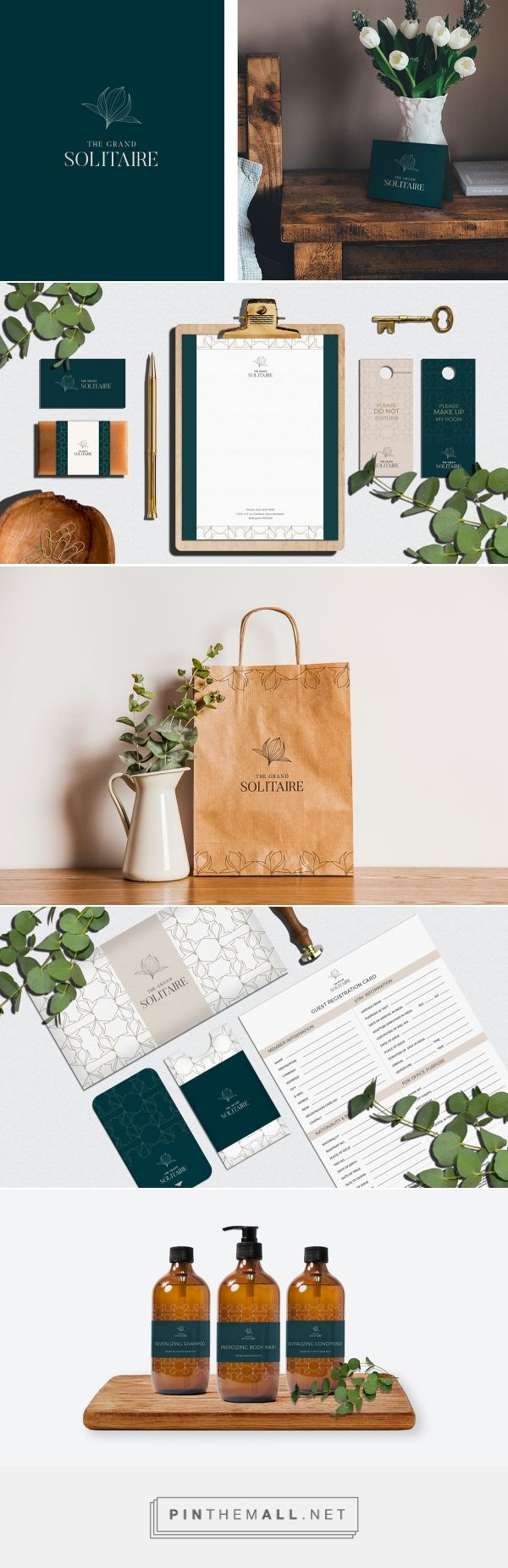 The Grand Solitaire Hotel Branding by Keertana Rumalla | Fivestar Branding Agency – Design and Branding Agency & Curated Inspiration Gallery
