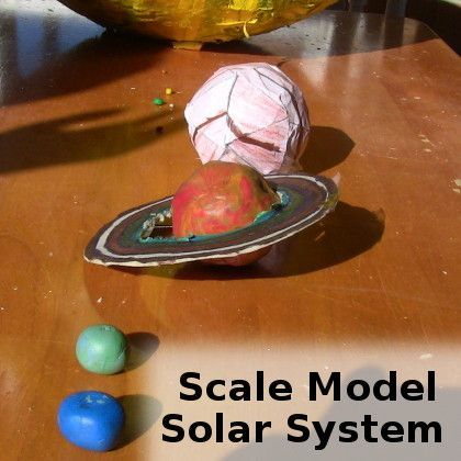 solar system model to scale - photo #19