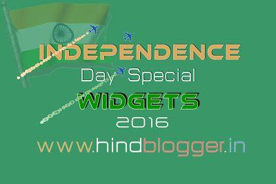 2016 India #Independence Day Special #Widgets Blog. Is me Apko Ek Flaying Plane milega Jo Apne ap Site Main India ka Flag Create karega. Ek Header Banner Milega or Ek Side bar ke liye Banner milega. http://www.hindblogger.in/2016/08/india-independence-day-special-widgets-for-blog-websites.html