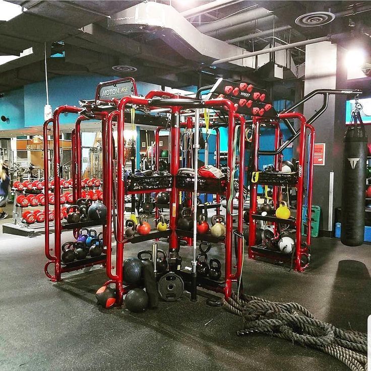 Hoist Fitness Motioncage Pictured Here At Crunch Fitness In Hoboken Nj Usa