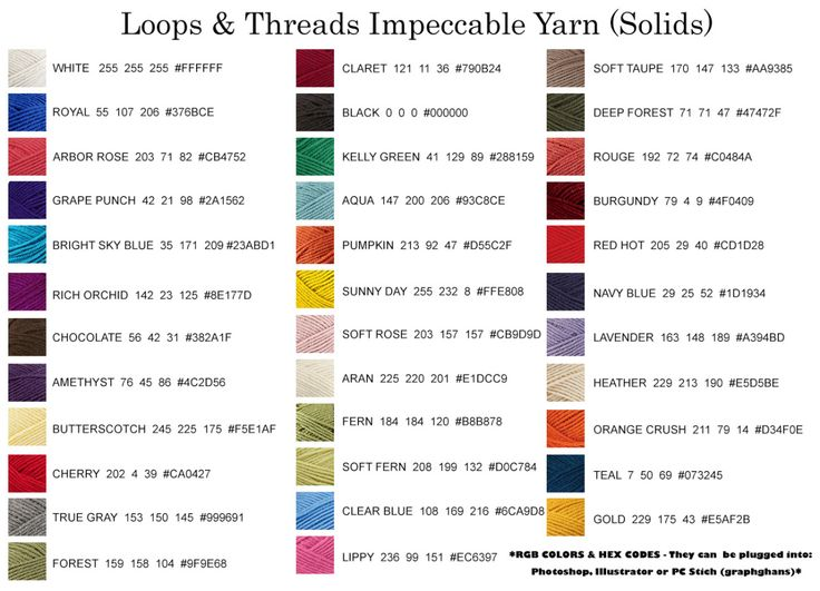 25+ best ideas about Loops and threads yarn on Pinterest ...