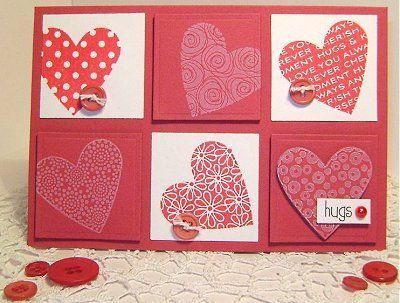25 best ideas about Valentines card design – Handmade Valentines Card Design