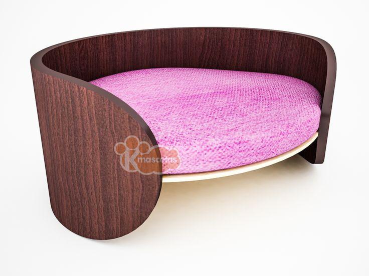 Camas con estilo para tus mascotas.  Modelo: Selene /  Medidas: 60x40x25 cms. /  Visitanos en www.kmascotas.cl