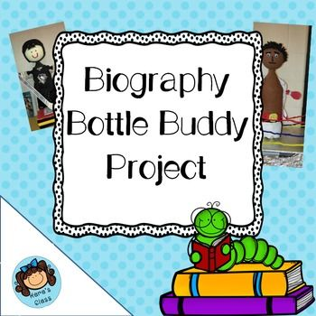"""Students ABSOLUTELY LOVE this project!  Want to motivate your students to read a new genre AND practice their speaking skills?This project requires students to read a """"just-right"""" biography, compose a speech highlighting what s/he has learned, and pull it all together with the MOST ADORABLE renditions of their chosen subject.Students WILLINGLY get up to speak in front of the class at the end of this project!Contains two possible rubrics."""