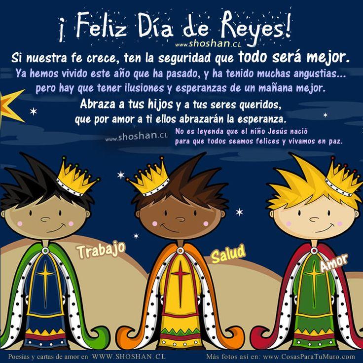 Tarjetas animadas, postales de Feliz Dia de Reyes Magos