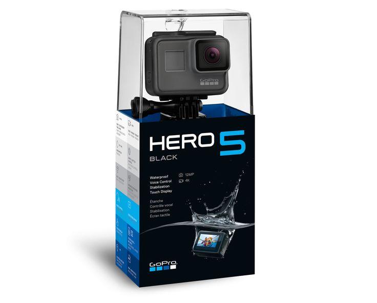 GoPro - HERO5 Black 4K Ultra HD Camera GoPro Hero 5 Black https://www.camerasdirect.com.au/digital-cameras/gopro-hero-5-black-session-accessories/gopro-hero5-black