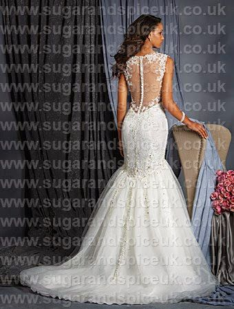 Alfred Angelo 2523 - Mermaid and fishtail gowns - Sugar and Spice UK - Lincoln