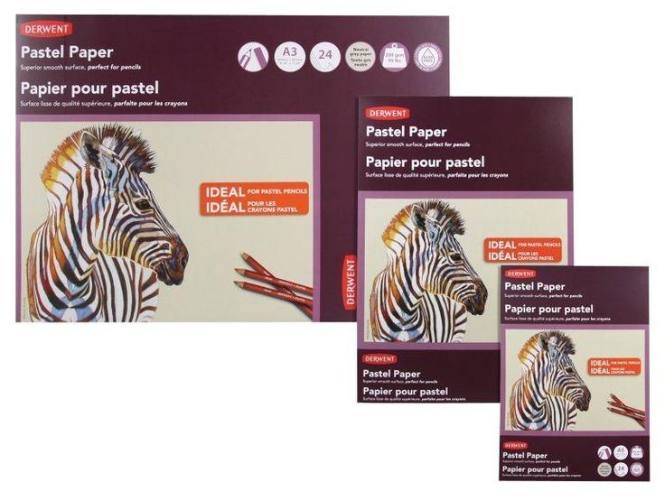 Derwent Pastel Paper Pad A4 Portrait