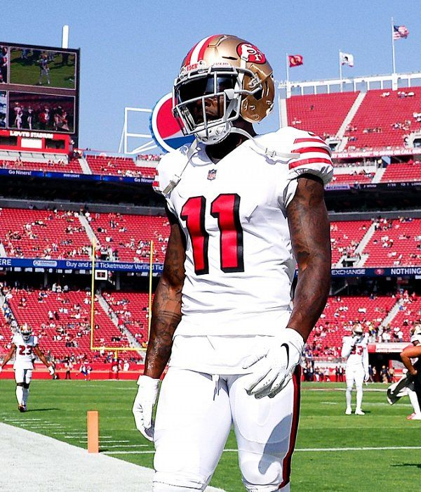 Nfl Originals Shares The Emotional Story Of 49ers Wr Marquise Goodwin San Francisco 49ers Football 49ers Football 49ers