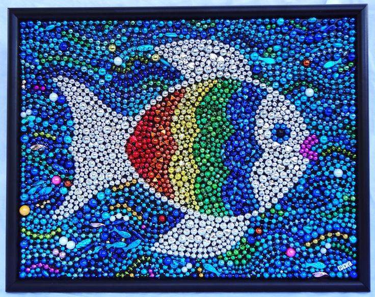 21 Best Mardi Gras Beads Images On Pinterest Bead Art