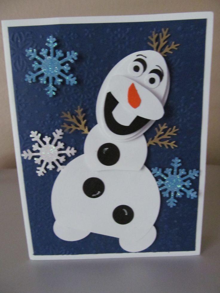 olaf card 2014  olaf the snowman cards disney characters