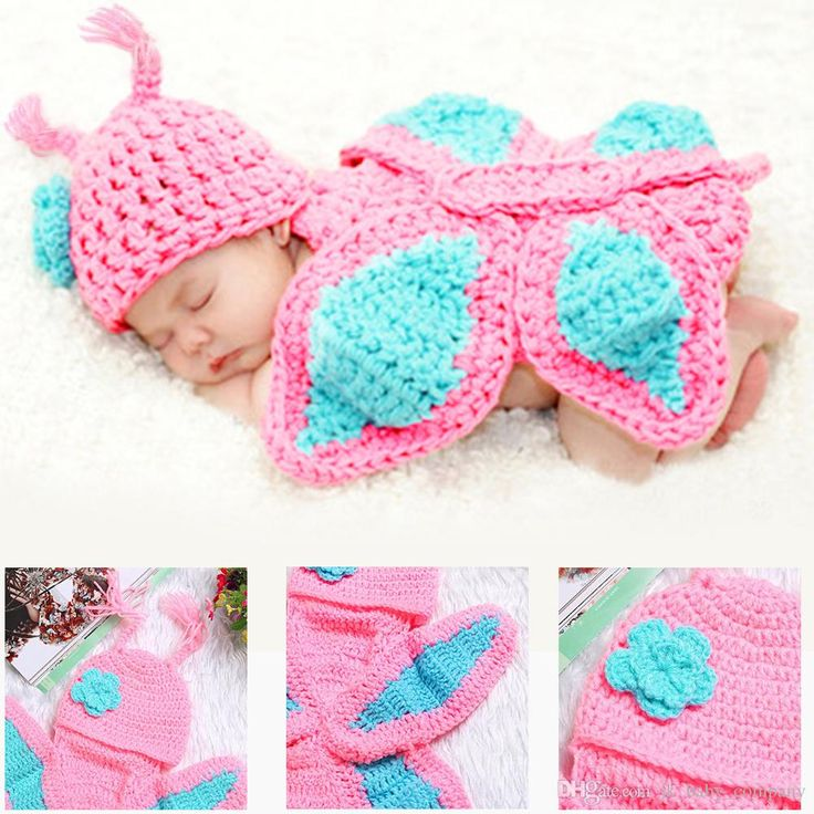 33 best Newborn Baby Crochet Photography Props images on Pinterest ...