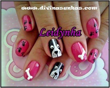 maquillaje de uñas con animales - Buscar con Google