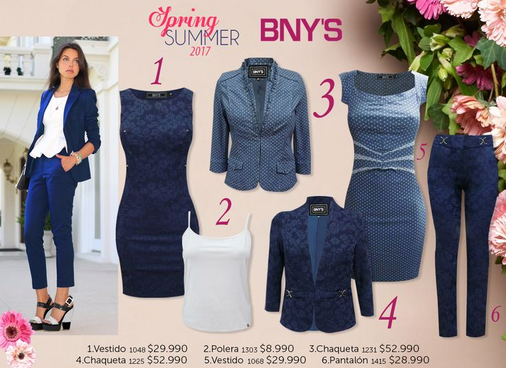 Outfits Spring Summer 2017 BNY´S