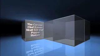 Skull Salt And Pepper Shakers - YouTube