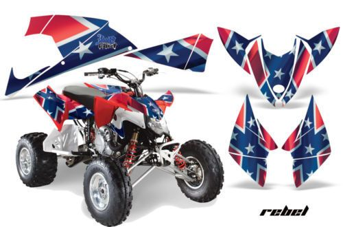 AMR RACING STICKER DECAL QUAD ATV GRAPHIC KIT POLARIS 450/525 OUTLAW 2009+