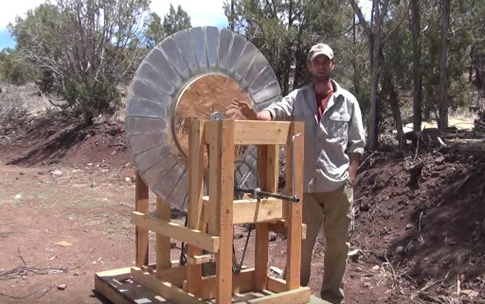 how to build a power generator macgyver