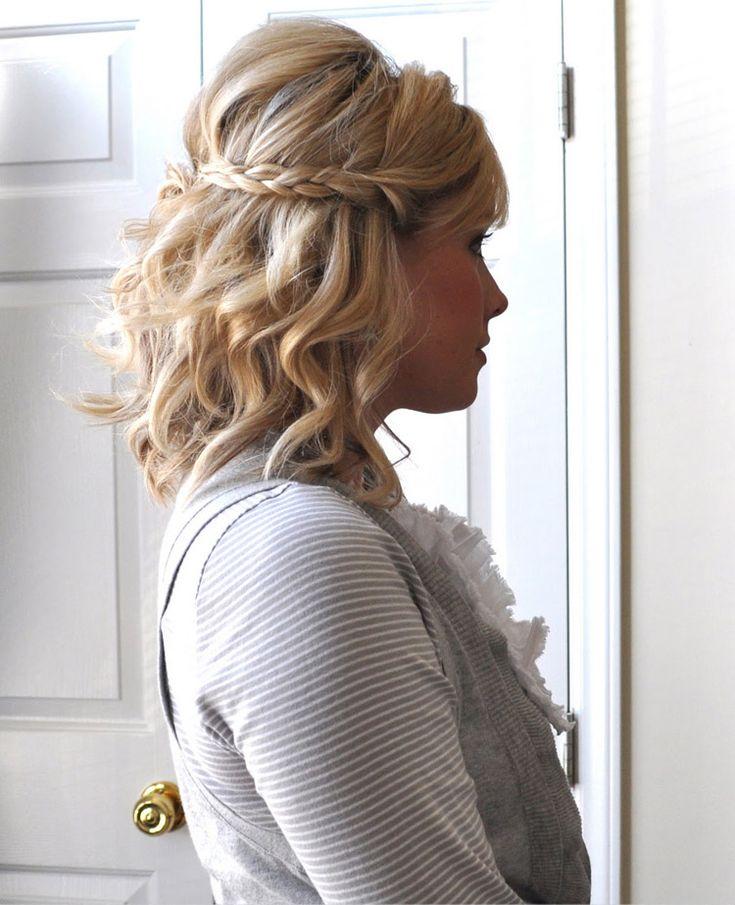 25+ Vackra Short Formal Hairstyles-idéer På Pinterest