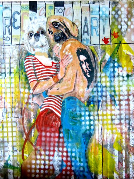 love is passion by holger 45x60 cm
