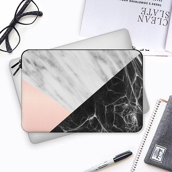 Marble Collage - Macbook Sleeve