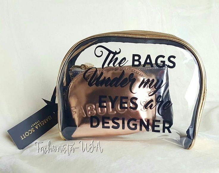 Isabella Scott Sydney Pack of 3 Designer Cosmetic/ Make up Bags #ISABELLASCOTTSydney