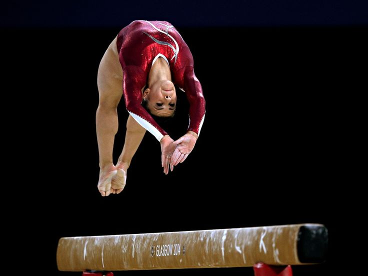 England's Claudia Fragapane competes on the way to winning the gold medal in the Women's All-Round Final Hannah Peters/Getty Images