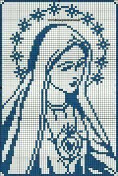 Resultado de imagem para divino espirito santo em ponto cruz