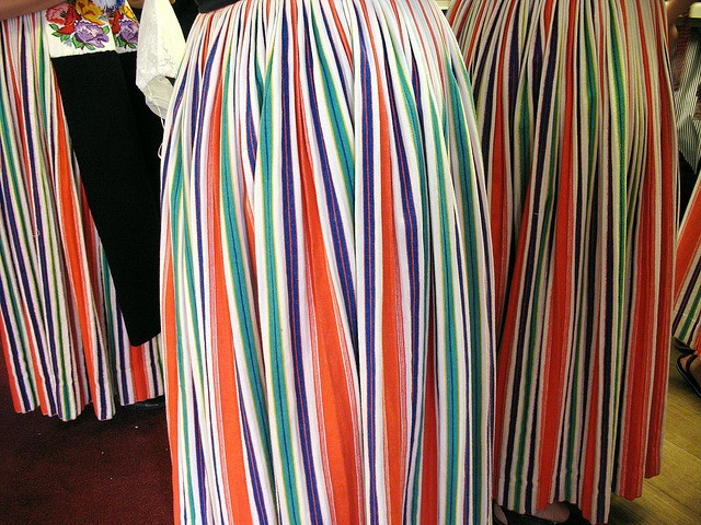 in traditional dutch costume by l r, via Flickr #NoordHolland #Volendam