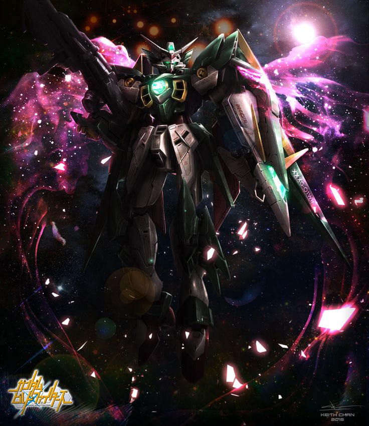 Gundam Fenice Rinascita (Gundam Build Fighters) gundam fan art