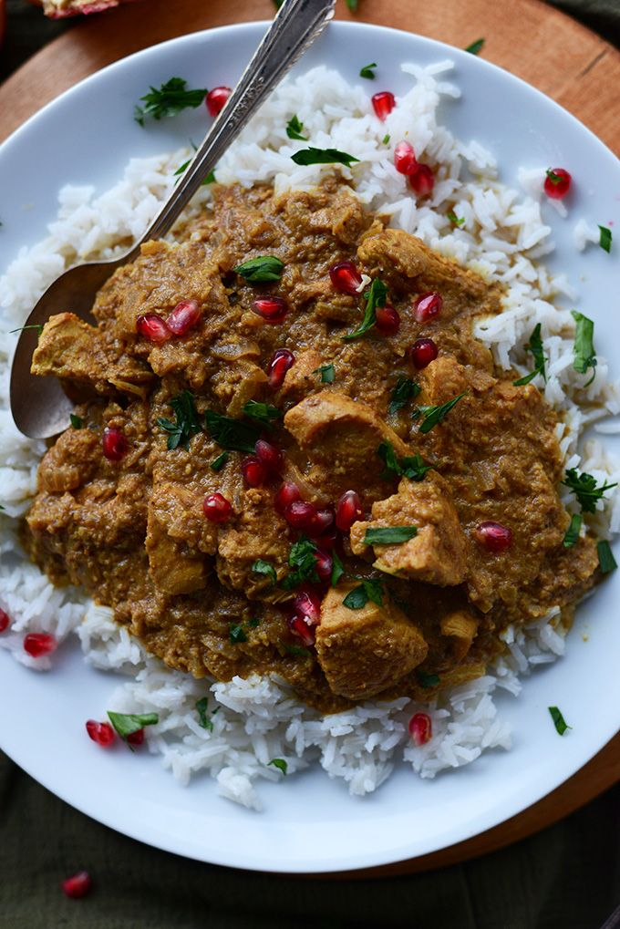 A classic Persian chicken dish with toasted walnuts and pomegranate molasses. Easy, healthy and incredibly satisfying served over rice.