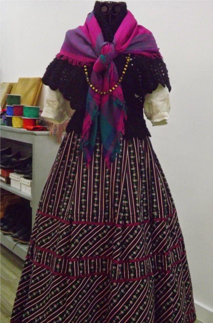 Tejido a crochet : Toquilla de ganchillo para traje tradicional galle...