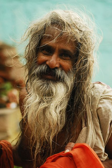 IND5077 - Homme de Dieu 7 - Inde Varanassi by Persodan on Flickr.